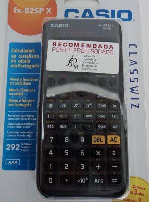 CALCULADORA CIENTIFICA CASIO FX-82SP X II iberia