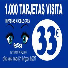 OFERTA TARJETA DE VISITA